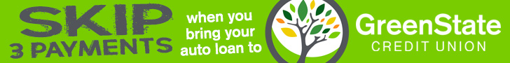 Skip 3 Payments when you bring your auto loan to GreenState