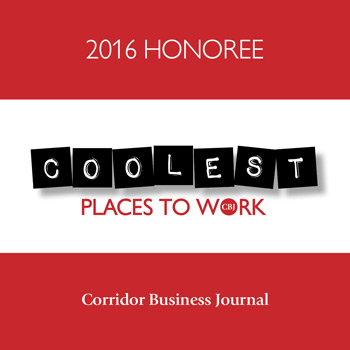 2016 Honoree Coolest Places to Work CBJ