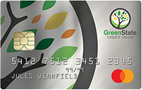 GreenState Platinum Rewards Example Card