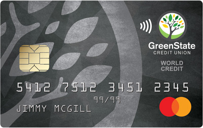 GreenState Word Mastercard